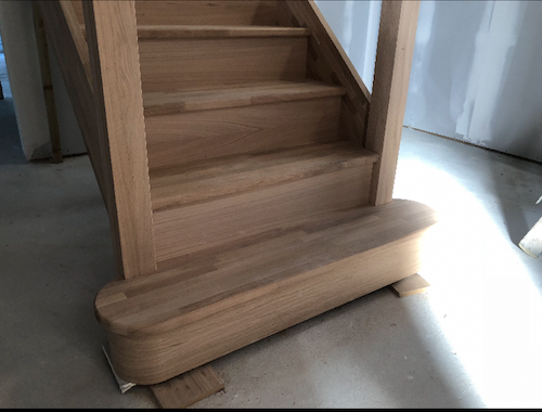 Oak Staircase Manufacturer Edinburgh