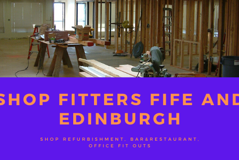 SHOP FITTERS FIFE AND EDINBURGH