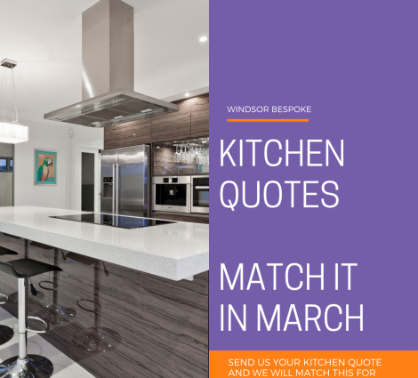 KITCHEN QUOTES: MATCH IT IN MARCH