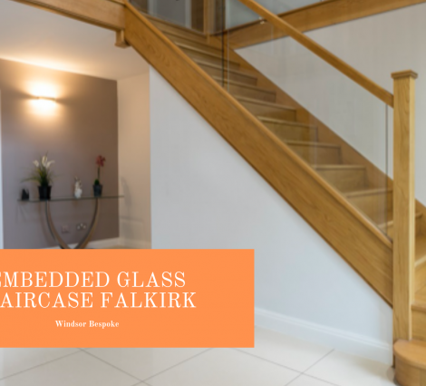 Embedded Glass Staircase Falkirk