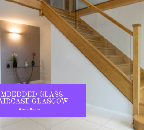Embedded Glass Staircase Glasgow