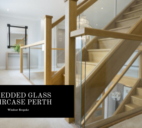 Embedded Glass Staircase Perth