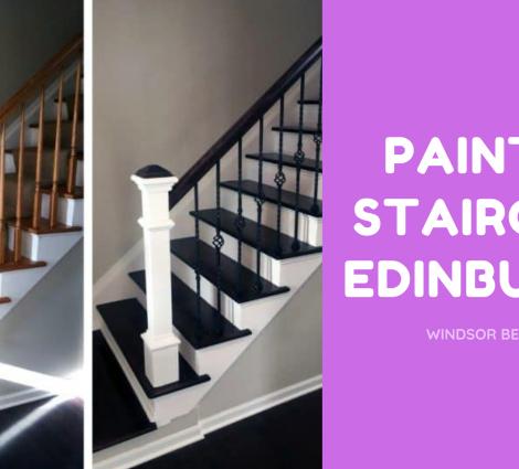 Painted Staircase Edinburgh