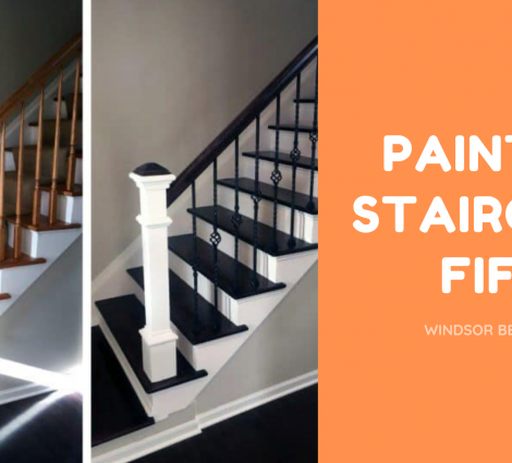 Painted Staircase Fife