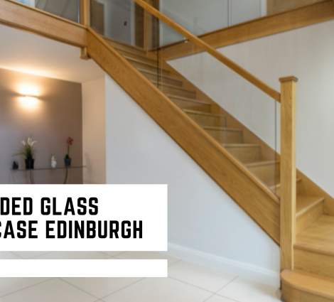 Embedded Glass Staircase Edinburgh