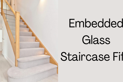 Embedded Glass Staircase Fife