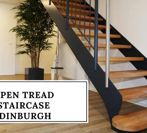 Open Tread Staircase Edinburgh