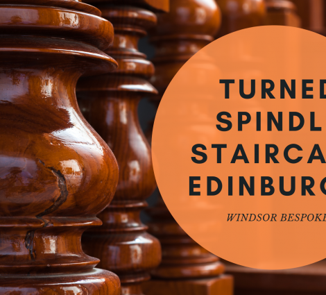 Turned Spindle Staircase Edinburgh
