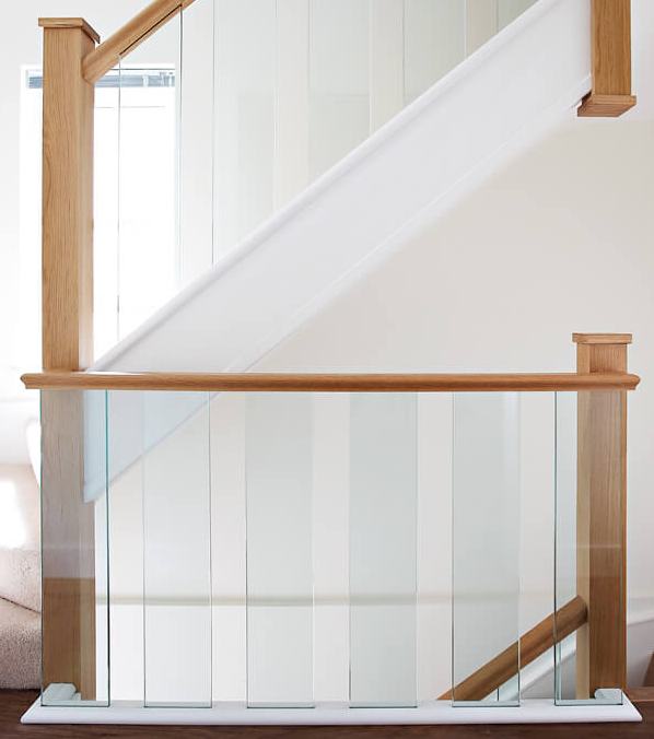 Glass Spindle Staircase Fife