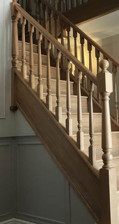 Turned Spindle Staircase Fife