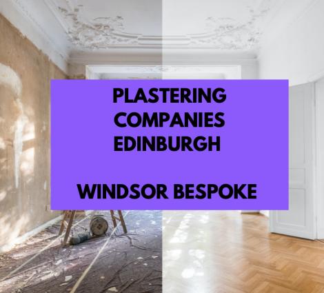 Plastering Companies Edinburgh